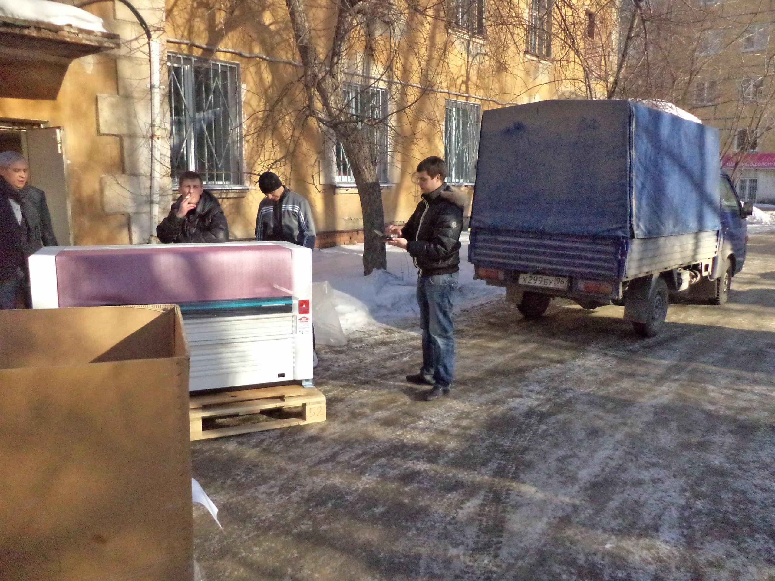 Перевозка оборудования грузчики