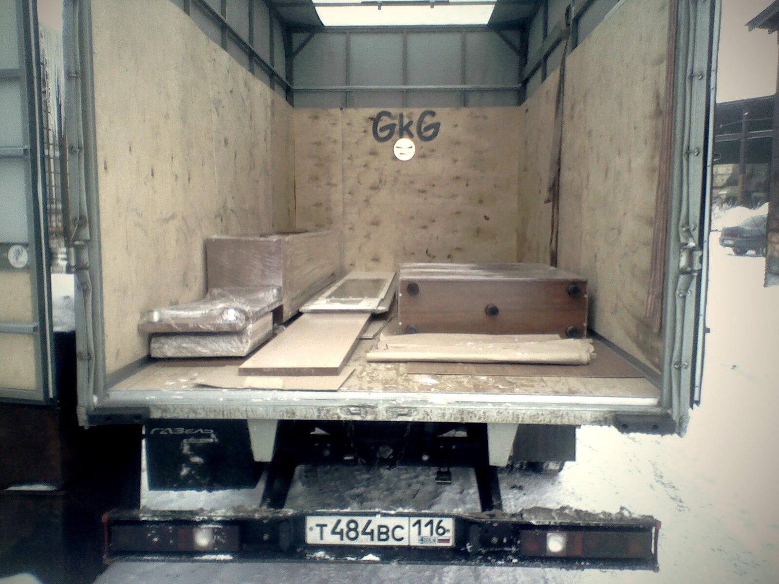 Упаковка мебели в пленку