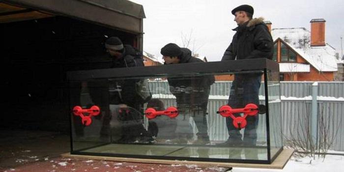 Перевозка аквариума Екатеринбург
