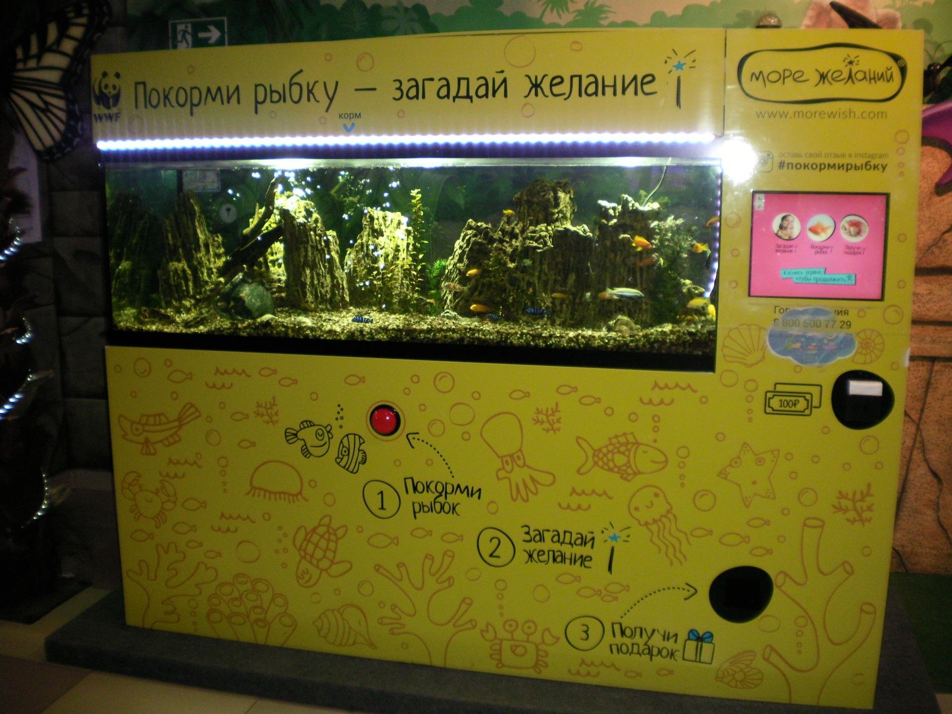 Перевозка автомат аквариум