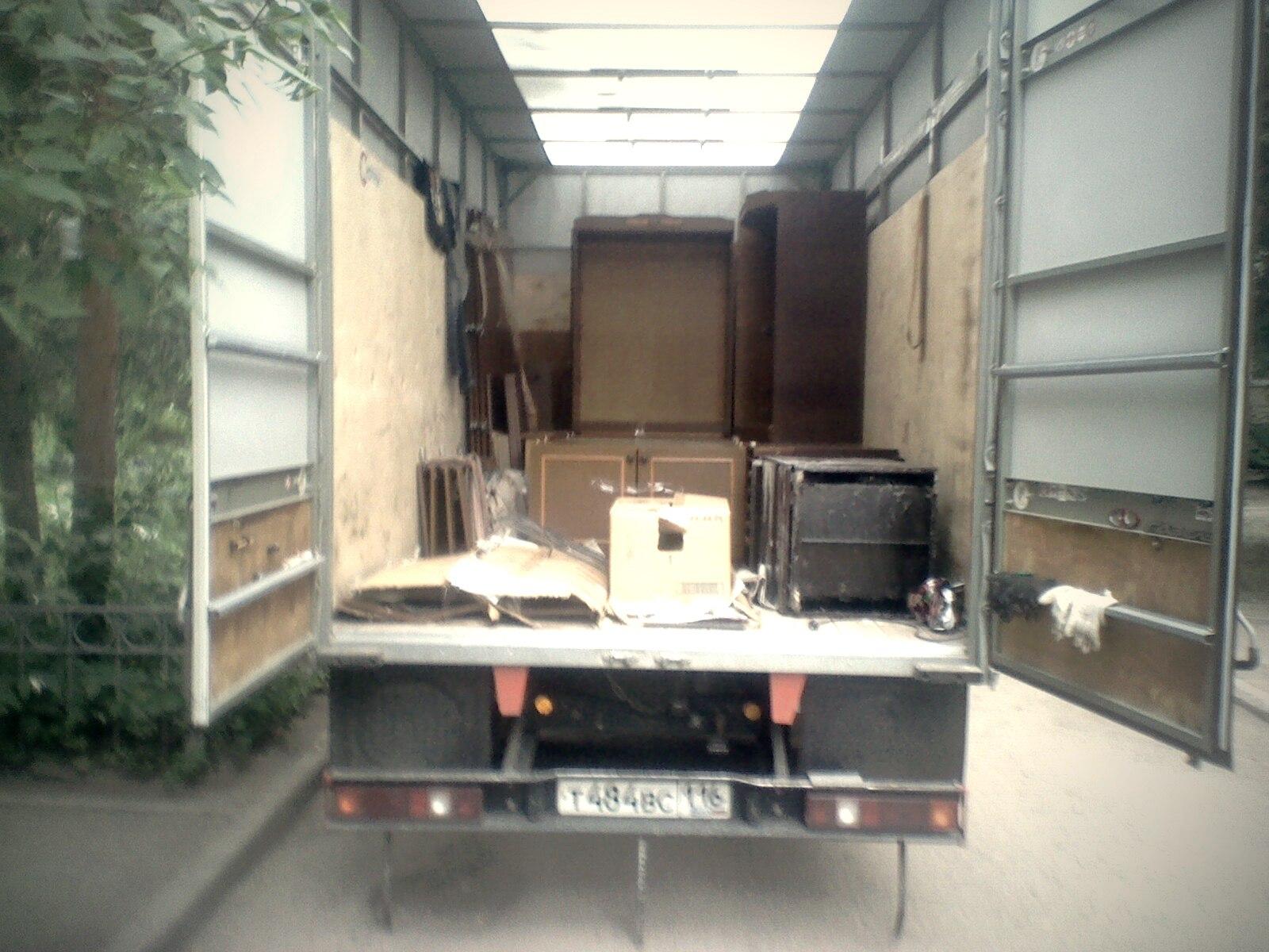 Вывоз мебели грузчики