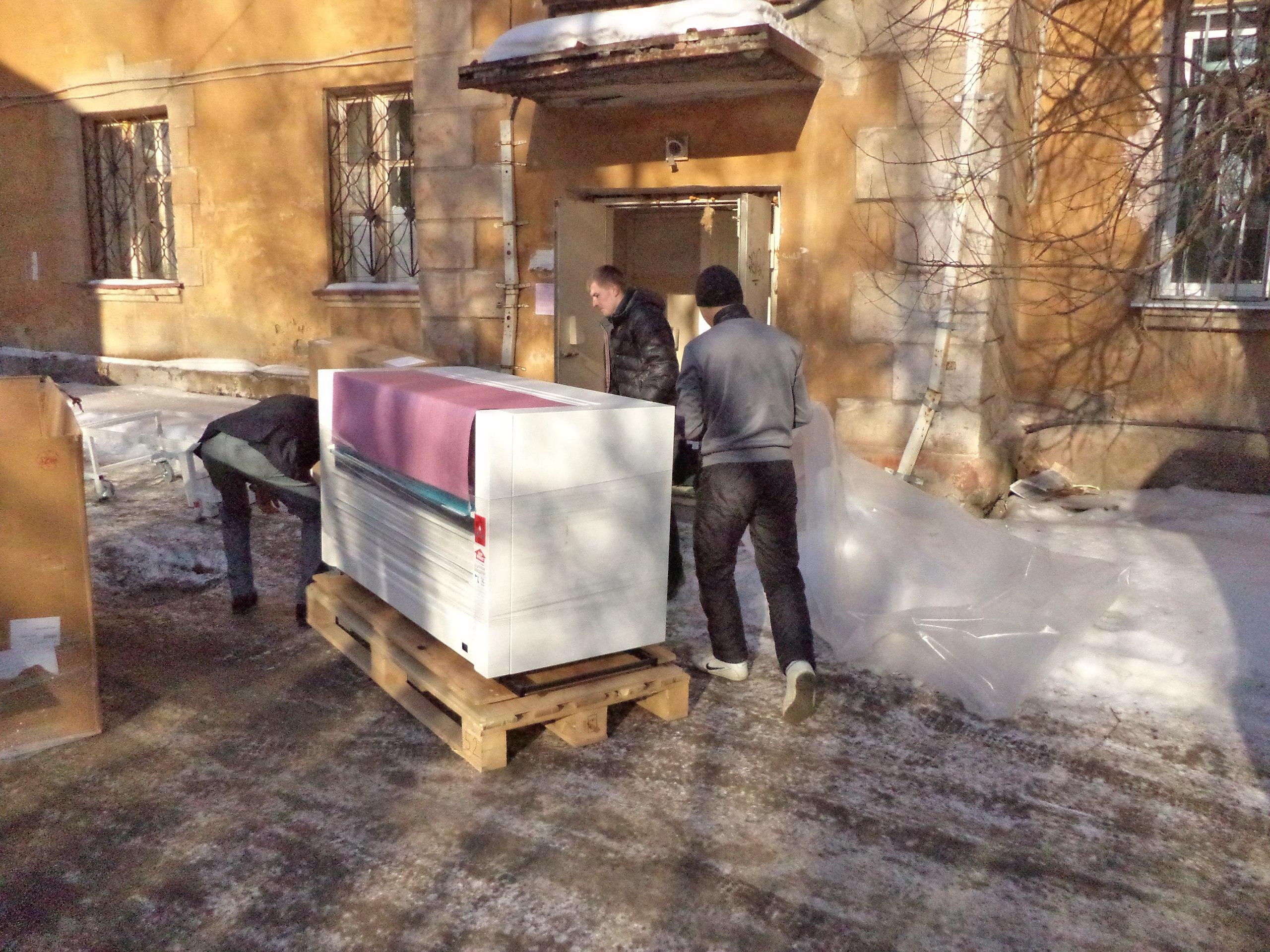 Перевозка оборудования Екатьеринбург